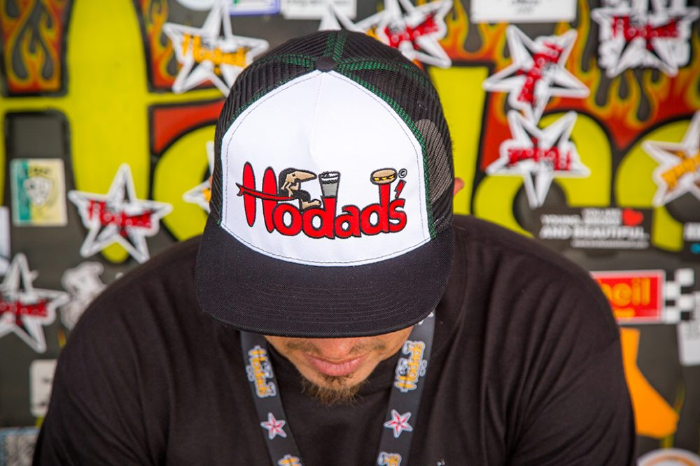 Hodad's Hats: SNAPBACK / EMBROIDERED RED