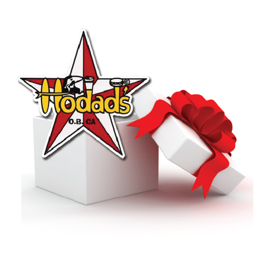 Hodads' Gift certificates