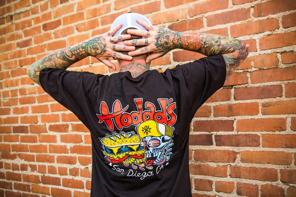 Hodads Skull Logo Tshirt