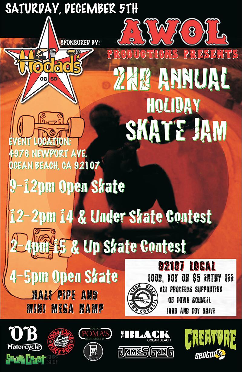 Hodads Skate Jam - Dec 5, 2015