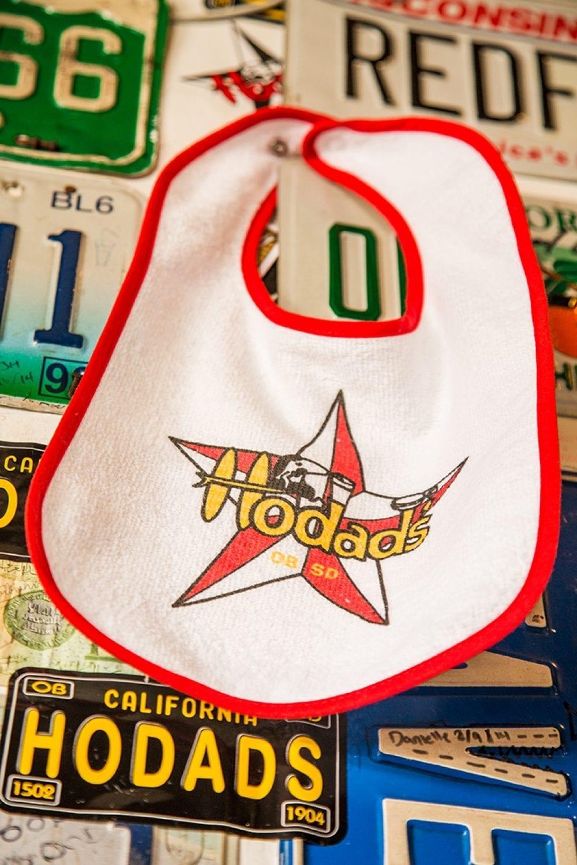 Hodads Super Star Bib w/ red trim