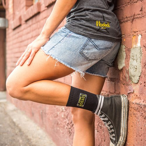 Hodad's Socks & Heather Tank