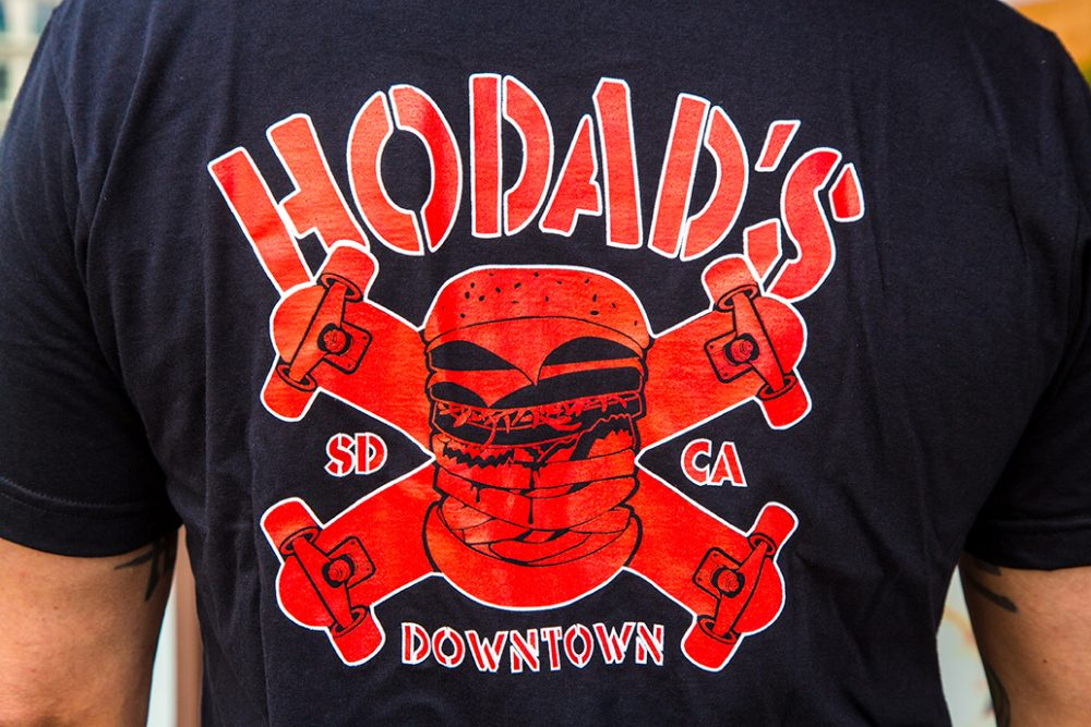 Hodad's Skateboard Logo