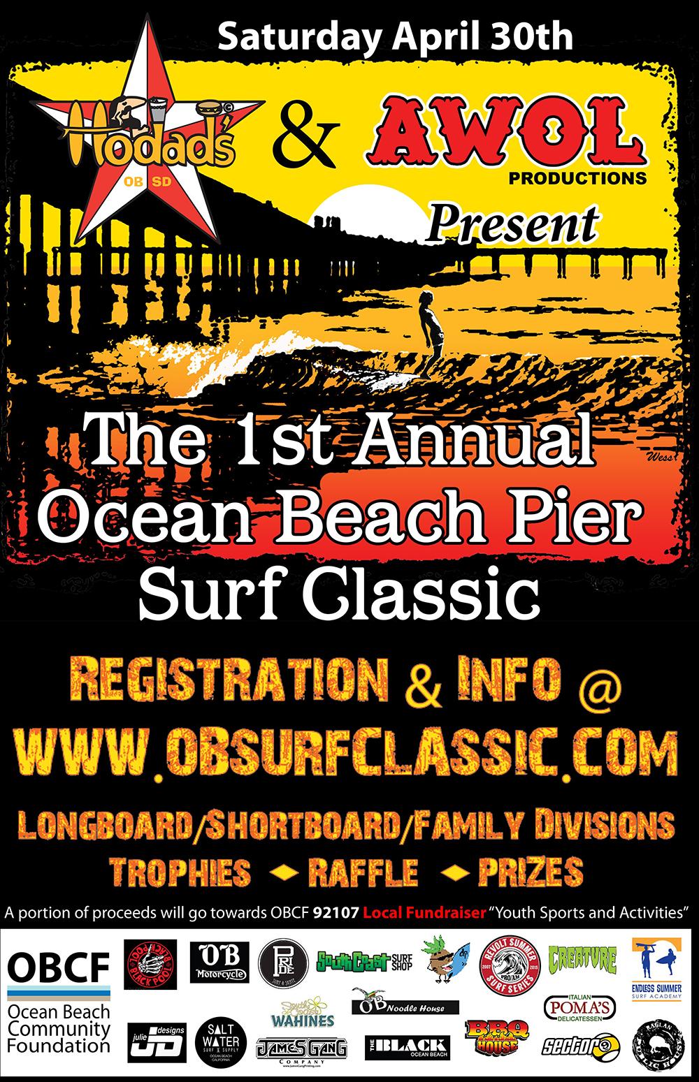 Ocean Beach Pier Surf Classic