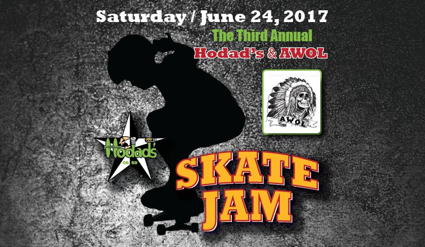 Hodads & AWOL Skate Jam 2017