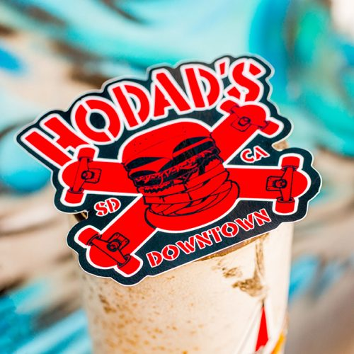 Hodads Sticker Skate Downtown