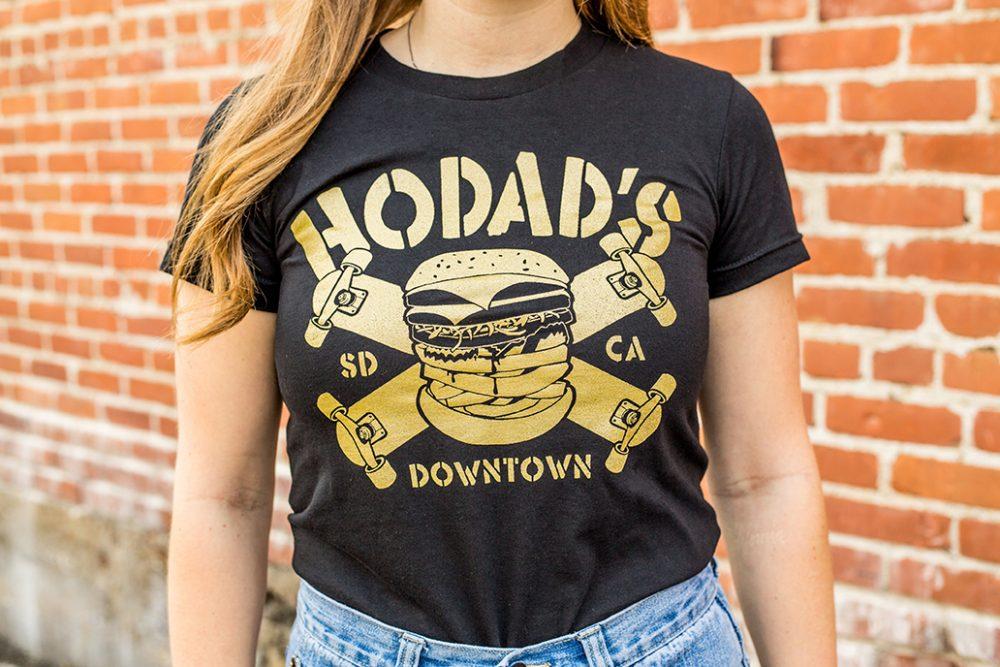 Gold Hodads Skateboard