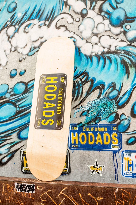 skateboard skatedeck hodads san diego California License Plate