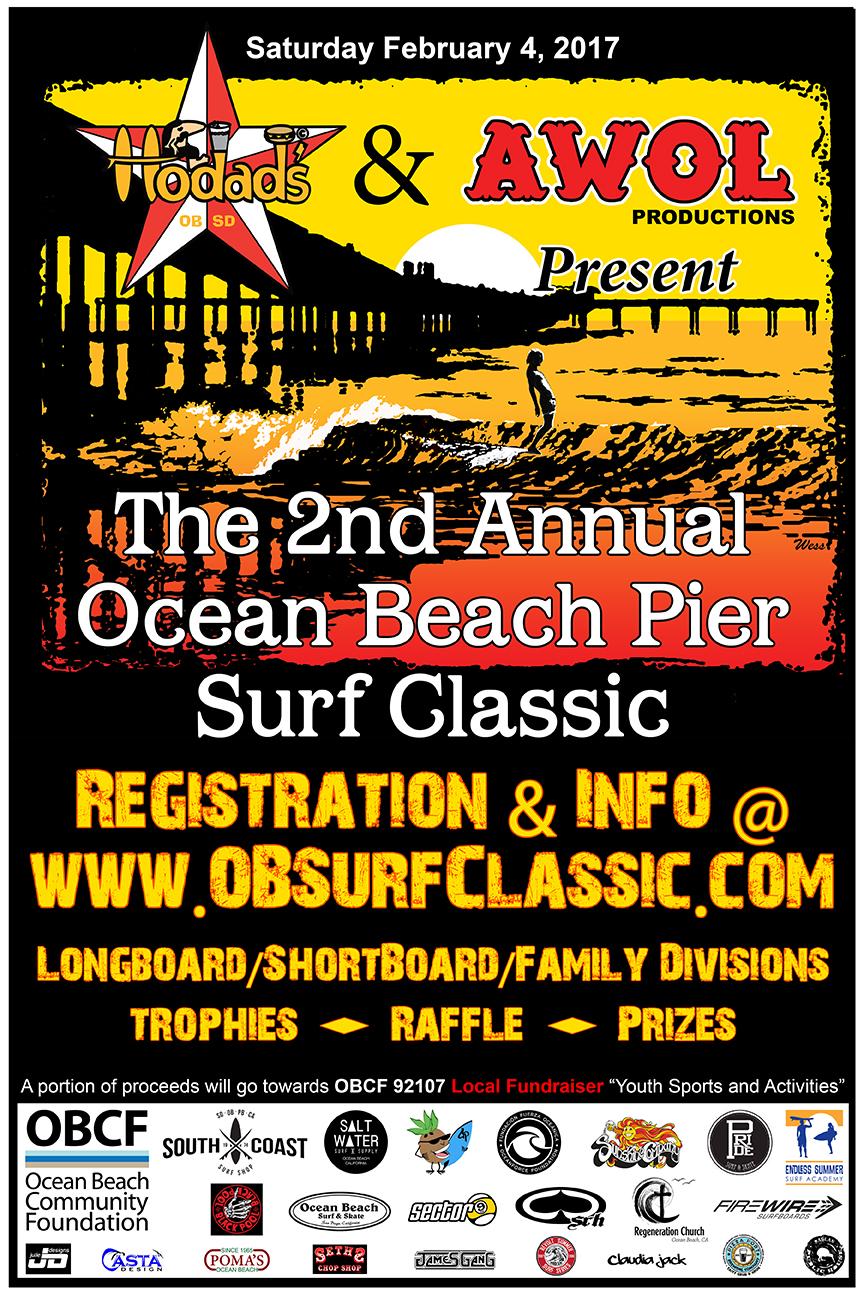 Hodads Ocean Beach Surf Classic 2017