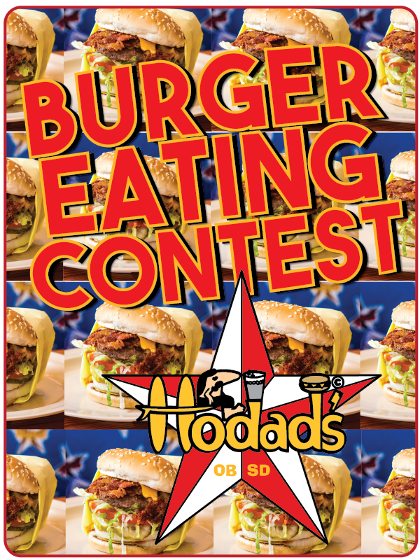 Hodads Burger Eating Contest