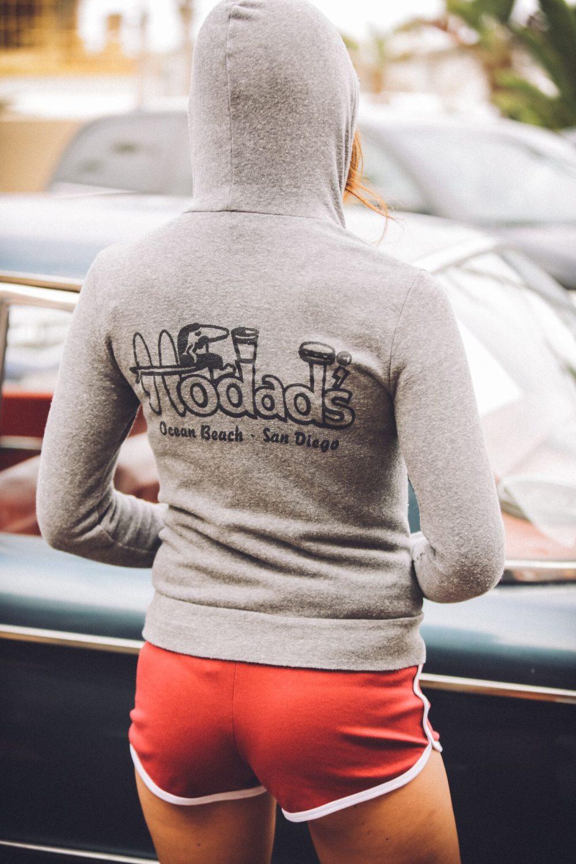 Ladies Hoodie Hodads Ocean Beach San Diego