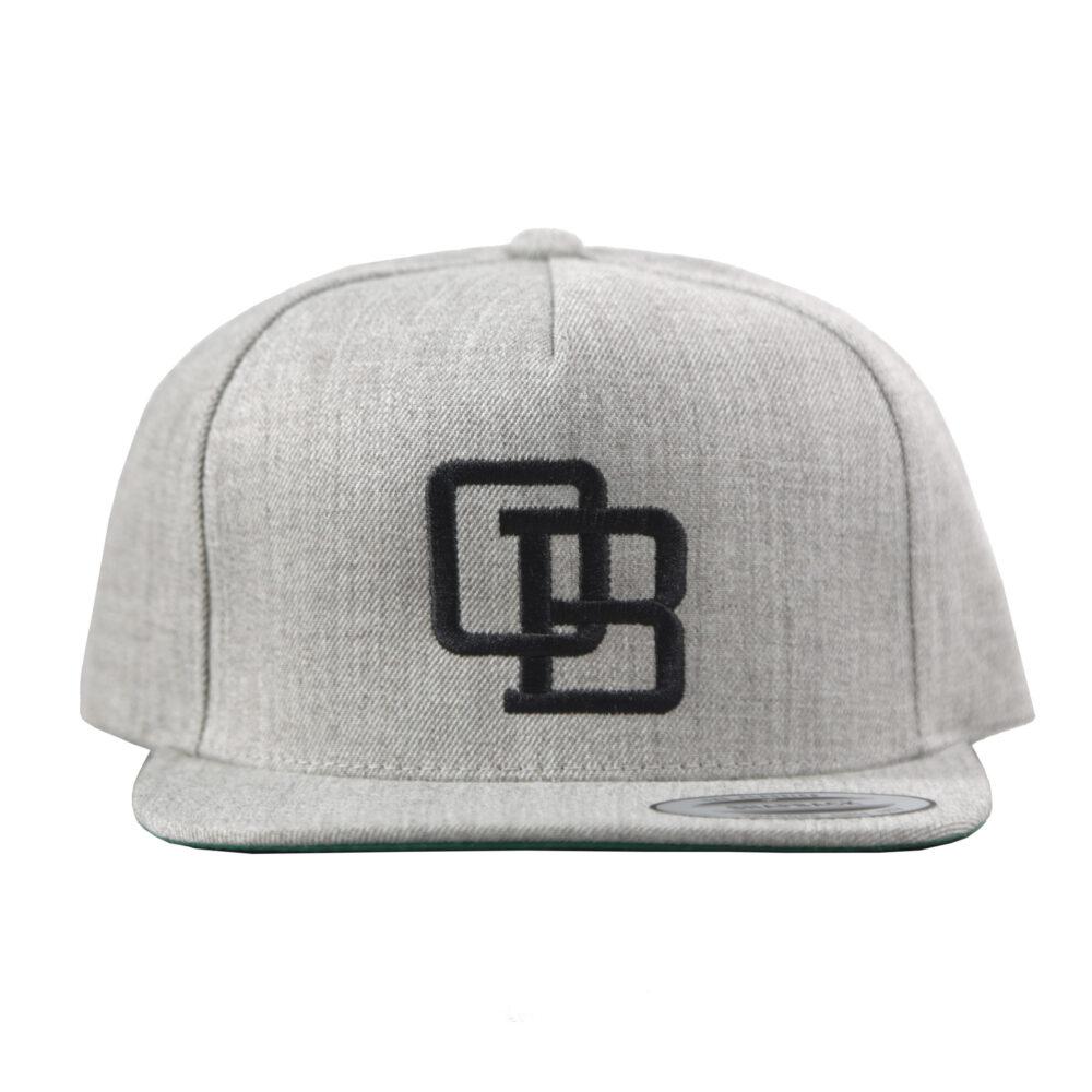 OB Logo Grey Hat Ladies Hoodie Hodads Ocean Beach San Diego