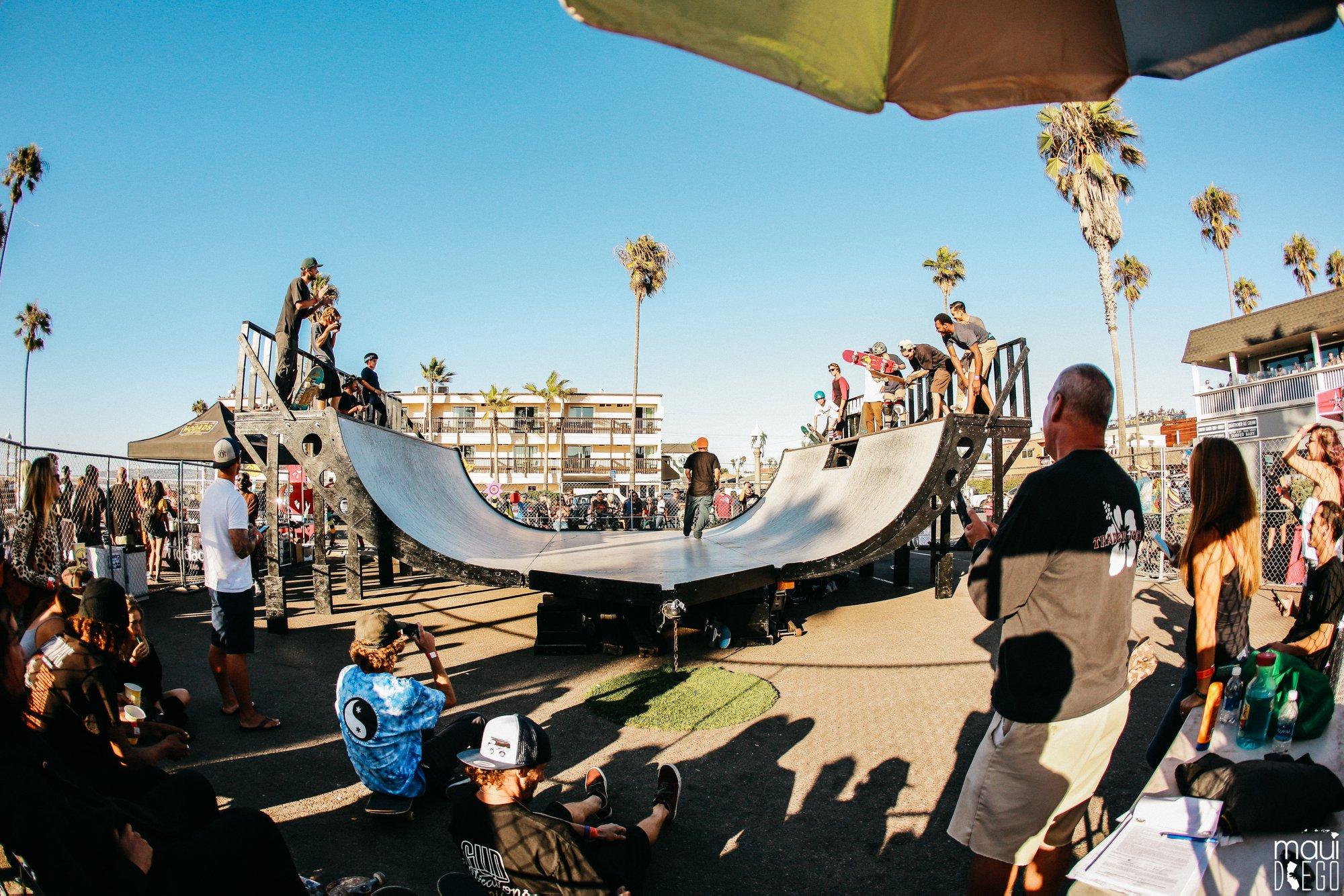 Hodads 50th Anniversary Skate Ramp