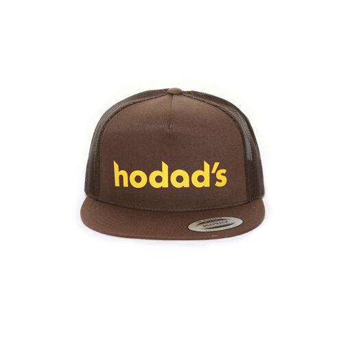 Hodads Ocean Beach San Diego Throwback Brown Hat