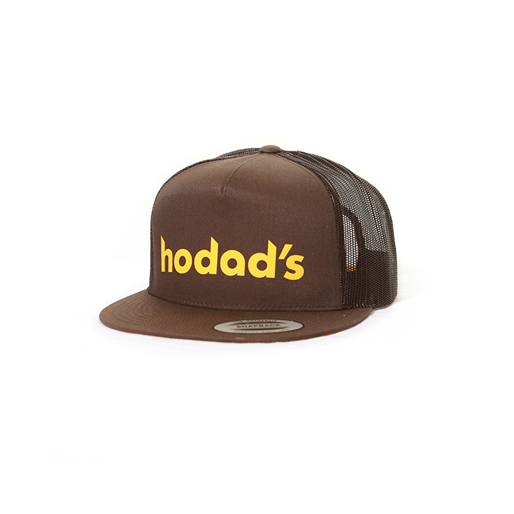 Hodads Ocean Beach San Diego Throwback Brown Hat