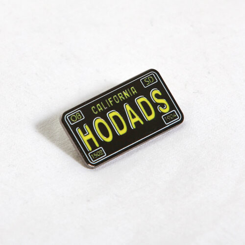 Hodad's License Plate Pin