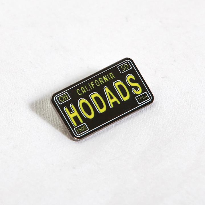 Hodad's License Plate Pin