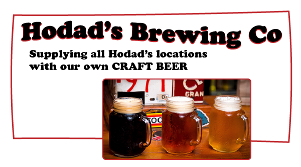 Hodads Brewing. Our locations offer our Craft beer