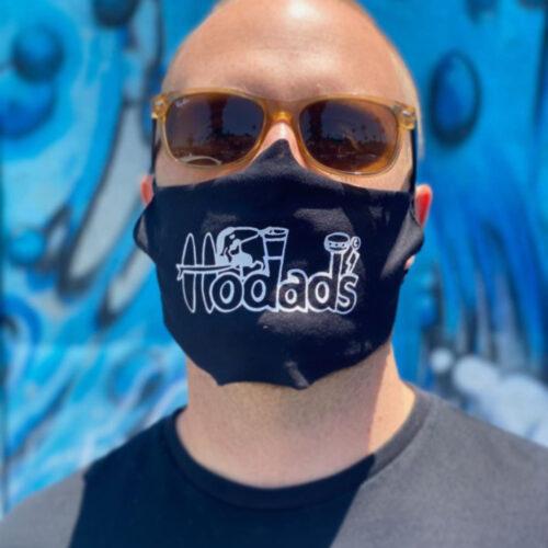 Hodad's cotton face mask