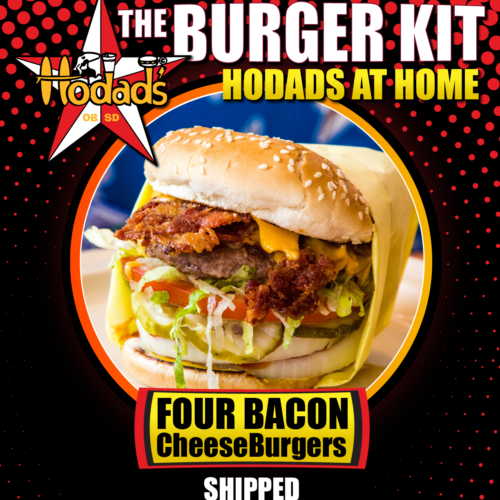 Hodads at Home Overnight Burger Kit