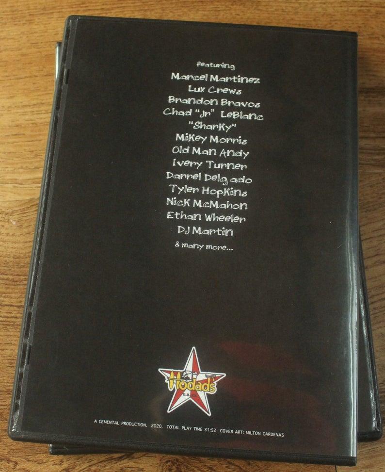 The Hodads Hamburger Video Back Cover